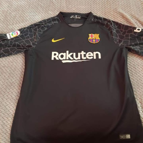 outlet store 0104d 89146 Men's Barcelona Home Goalkeeper Shirt
